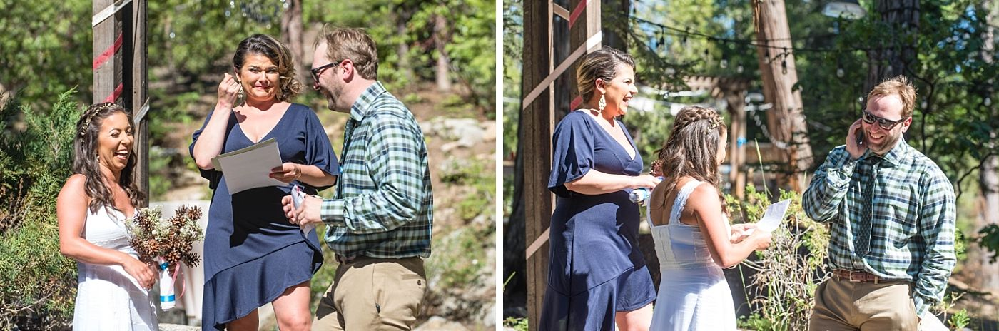 shaver lake village hotel California destination wedding ceremony
