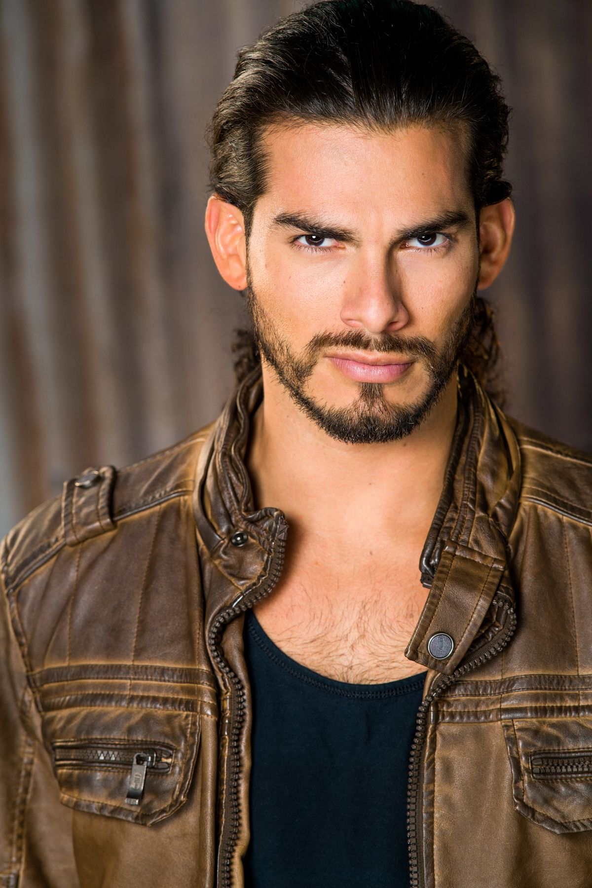 Actor Angel Garet Headshot Los Angeles