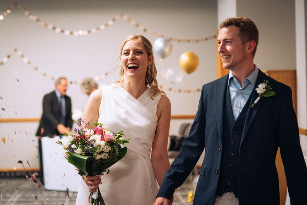 Pukrup Hall wedding by Zara Davis Photography, Gloucestershire confetti