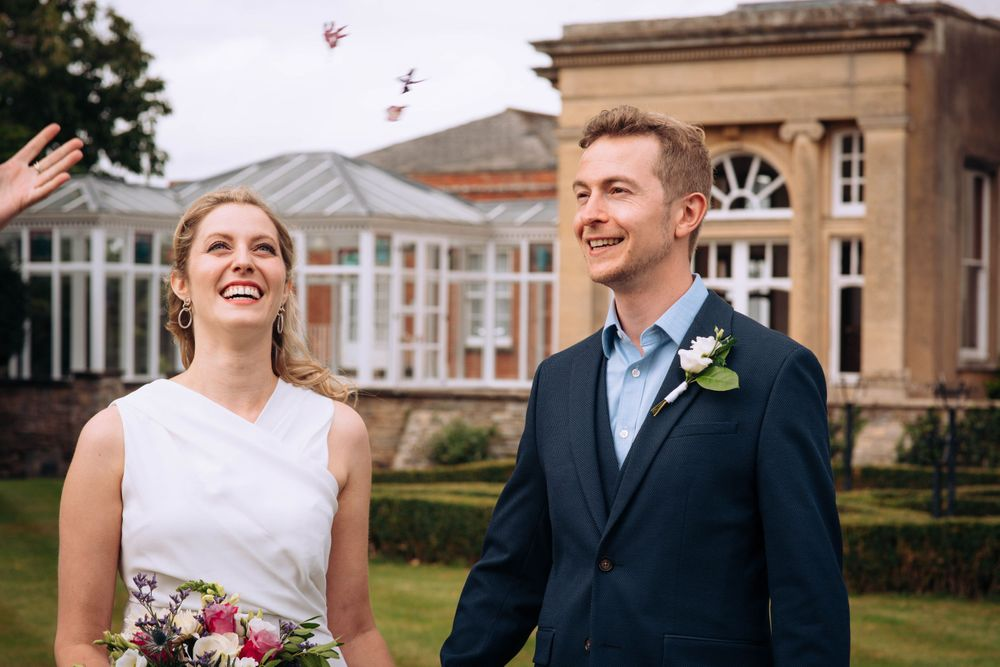 Pukrup Hall wedding by Zara Davis Photography, Gloucestershire small bit of confetti