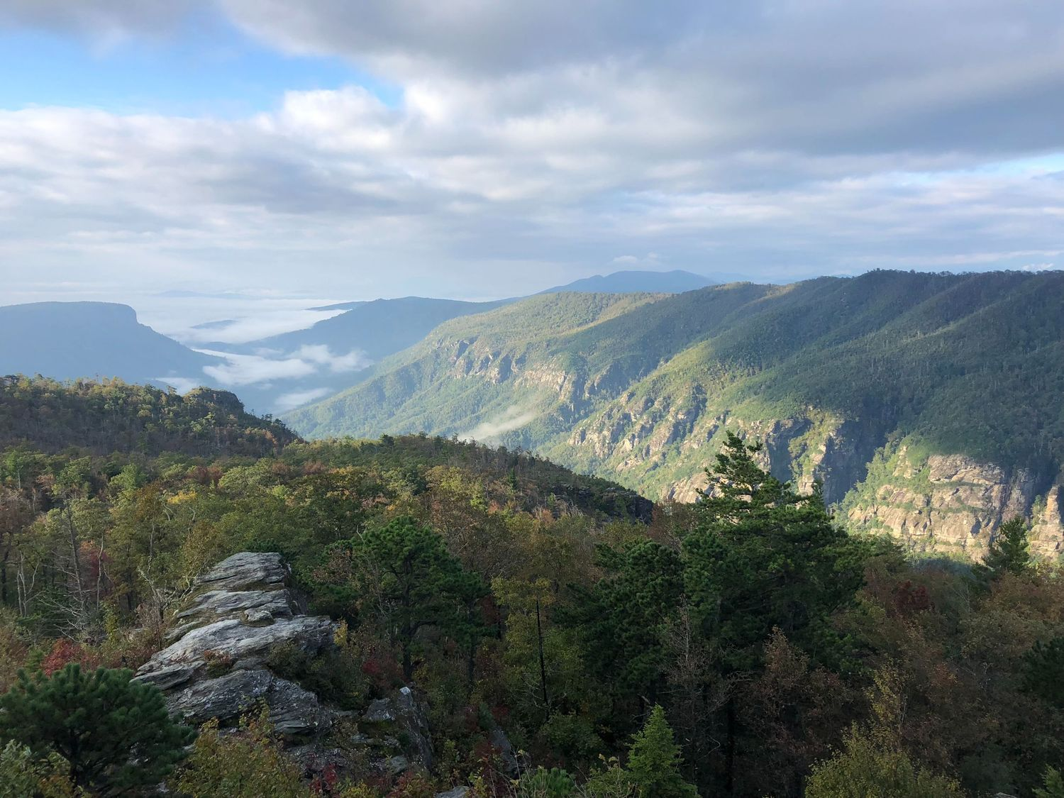 Linville Gorge in North Carolina.