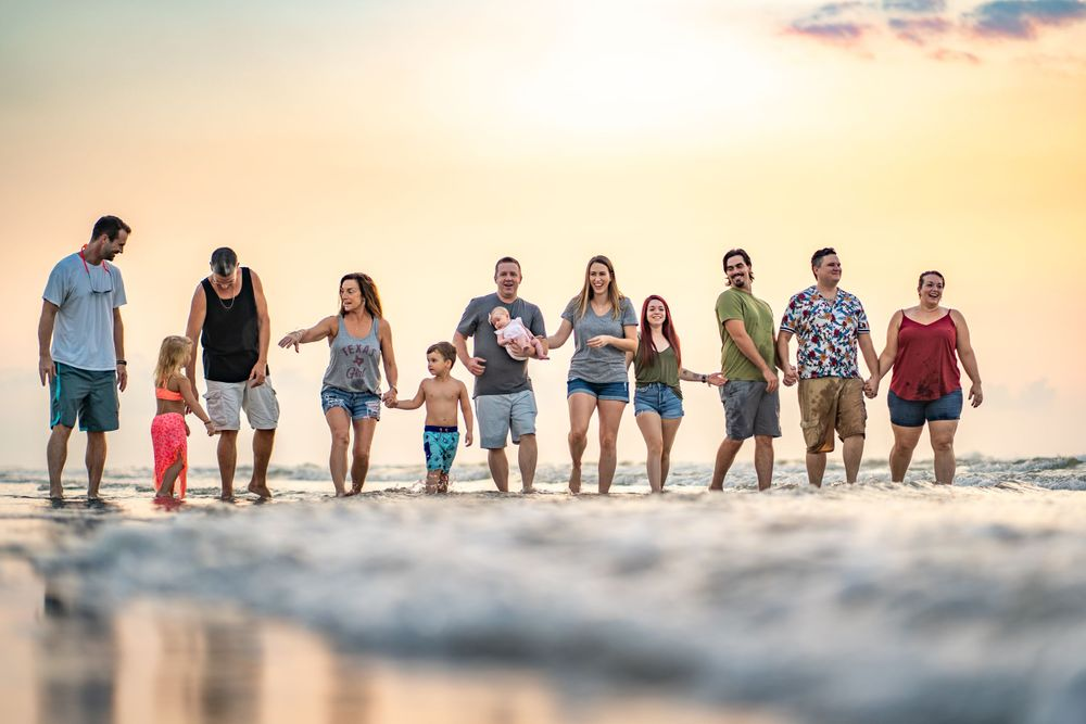 Sunrise family photos in Galveston, TX. Couldn't have asked for a cooler family to hang out with.