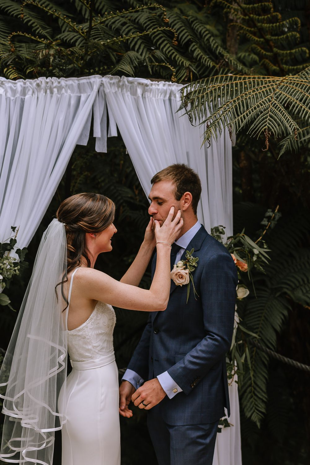 Leah and Grant Wedding Elopement - Hush Boutique Coromandel