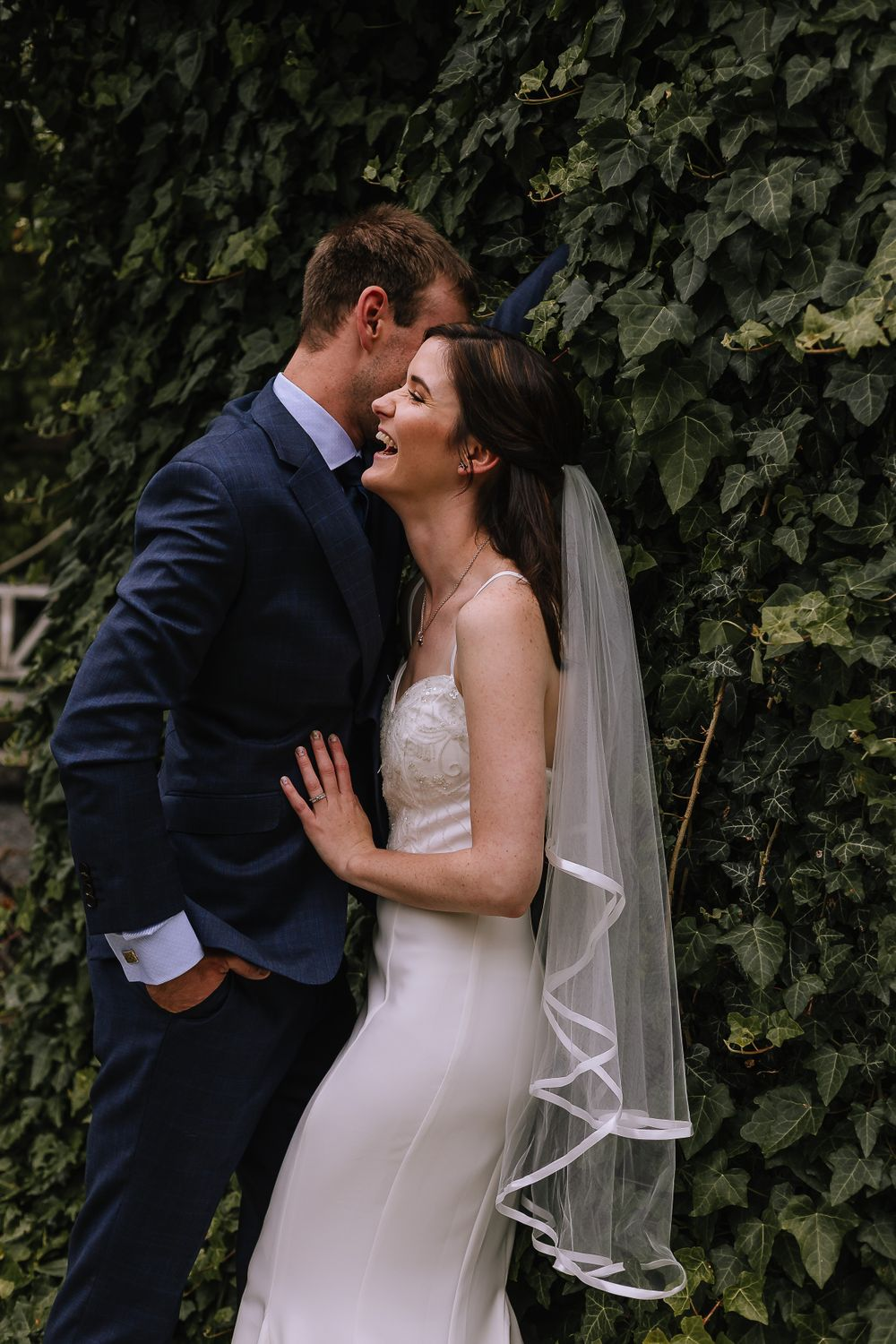 Leah and Grant Bridal Whispers - Hush Boutique Coromandel