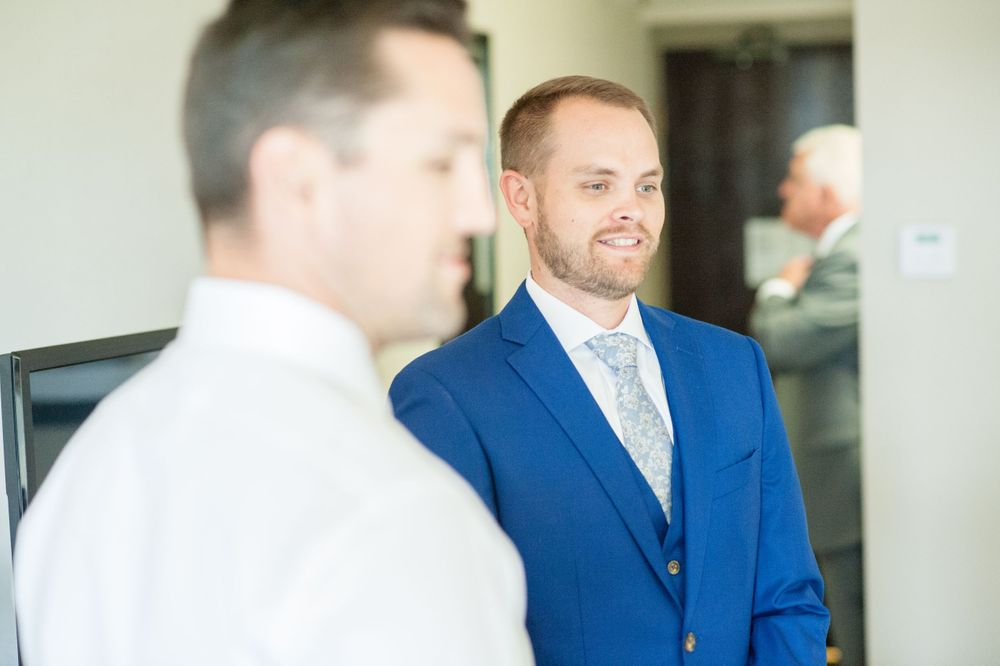 Visual Narrative Photography Michigan wedding photography groom