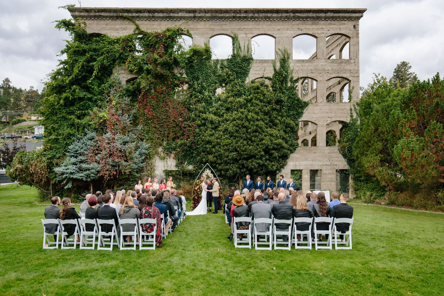kaleden hotel wedding ceremony