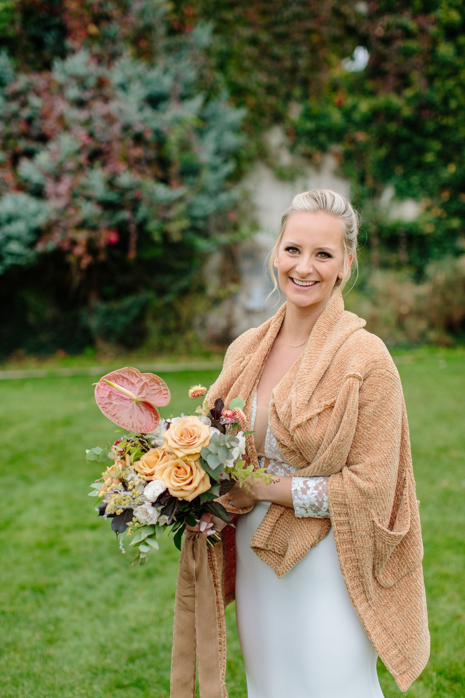 fall wedding boquet