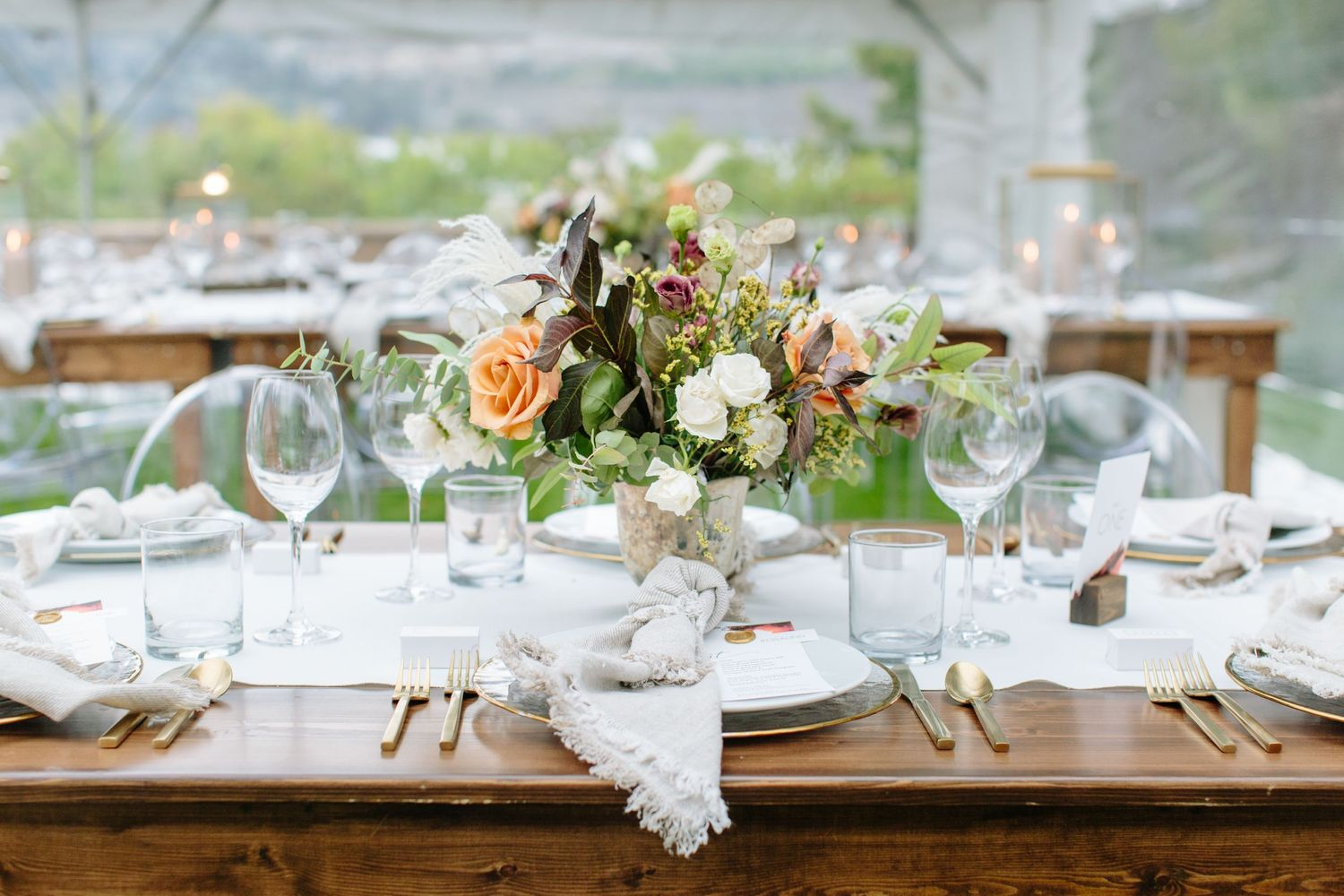 okanagan fall tablescape