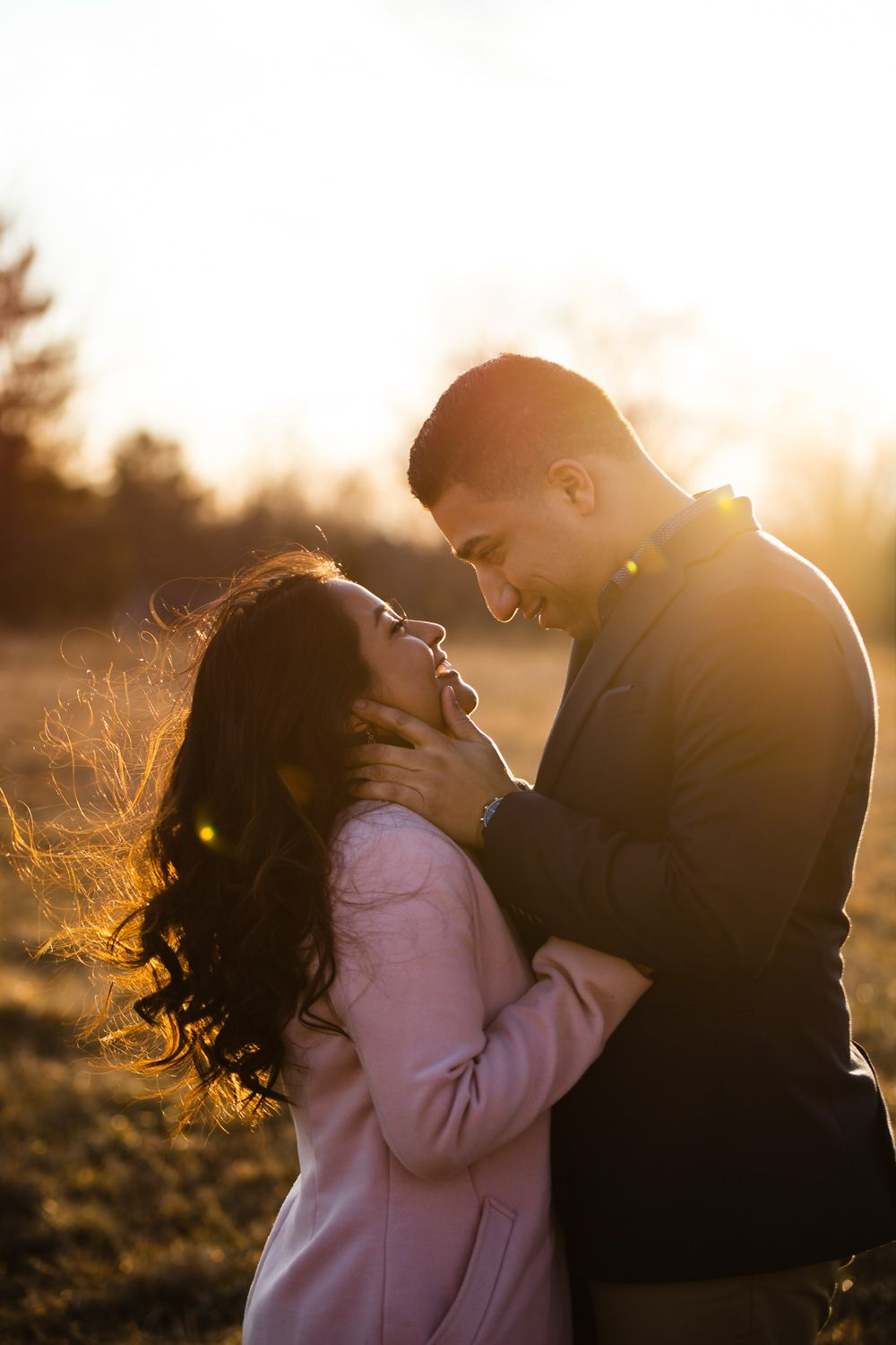 Engagement photos near Gardiner, New York