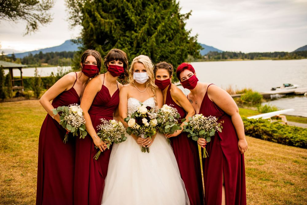 Covid Vancouver Wedding Photographer