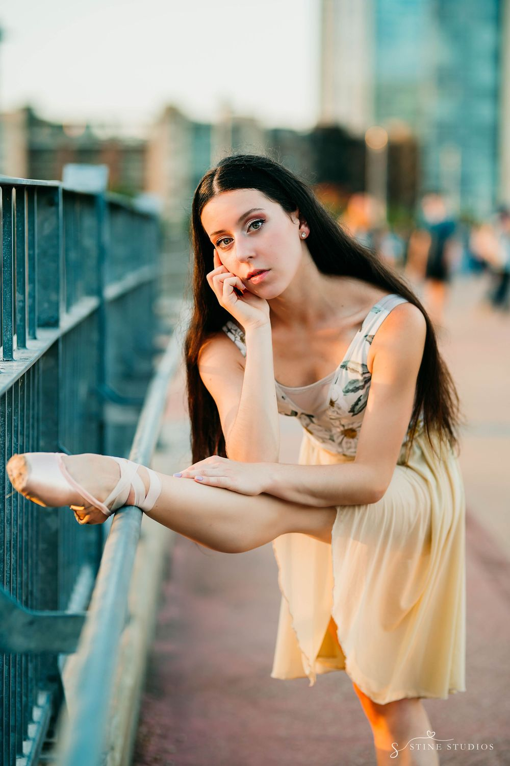 Ballet Dancer Photoshoot. Austin Bridge Photoshoot
