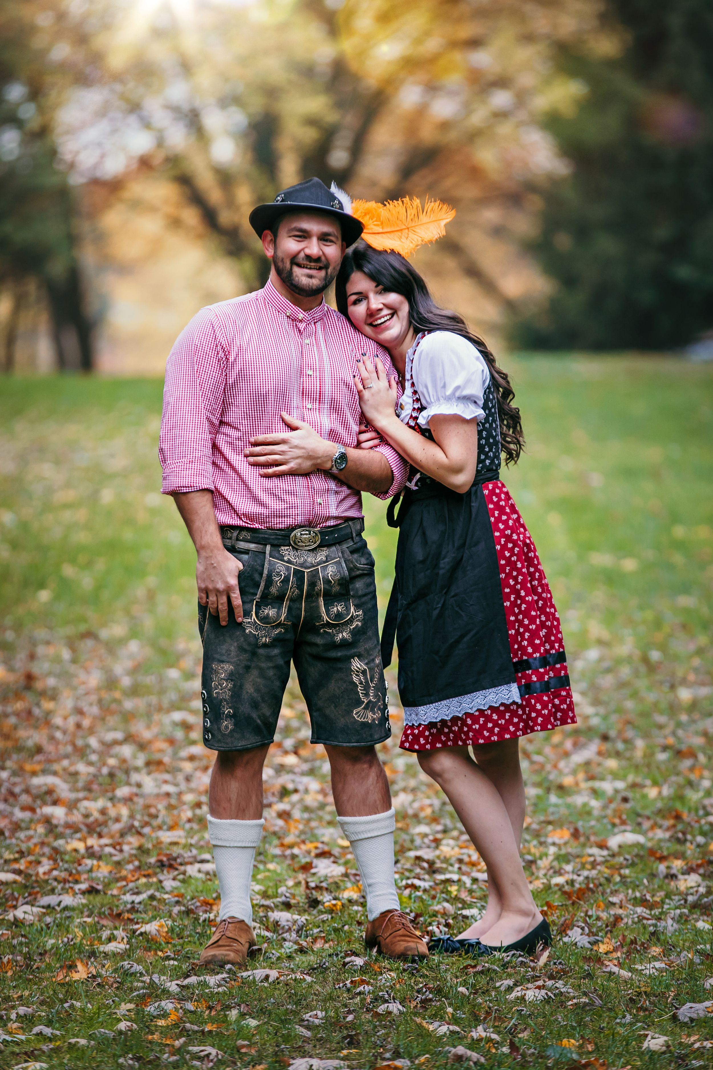 Fall Engagement Photos at Wildwood Conservation Area St.Marys Ontario by Shawn Van Daele