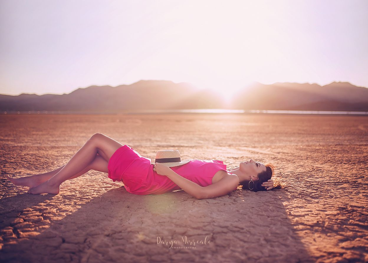 Nevada Desert session with Marina Dry Lake Bed