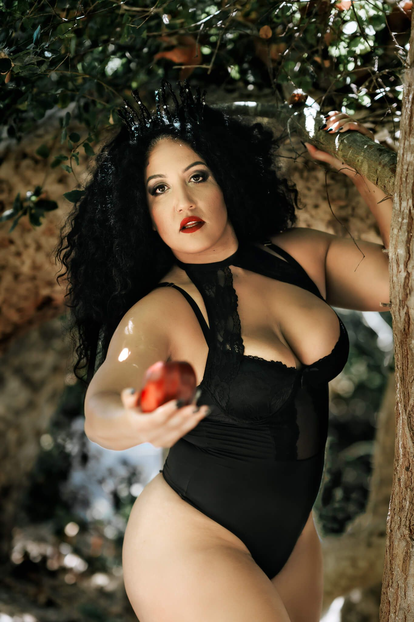 snow white lingerie dry ice creative session boudoir photography san diego outdoors