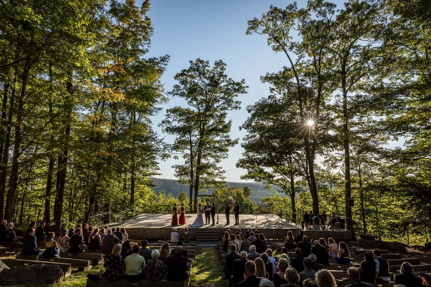 Jacob's Pillow Wedding Berkshires Western MA