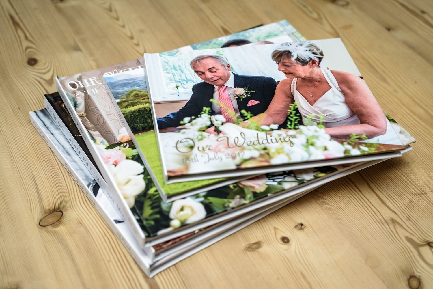 Lake District wedding albums by Simon Hughes Photography