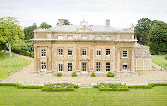 Turvey House bedfordshire is on Faye Amare's wedding venue bucket list
