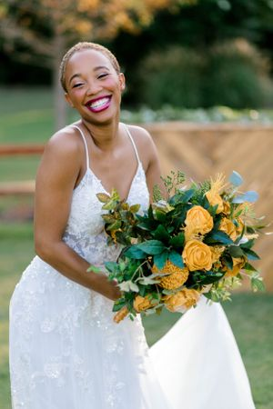 Elizabeth Couch Photography | Dallas Fort Worth Wedding Photographer | bridal photos | African American bride