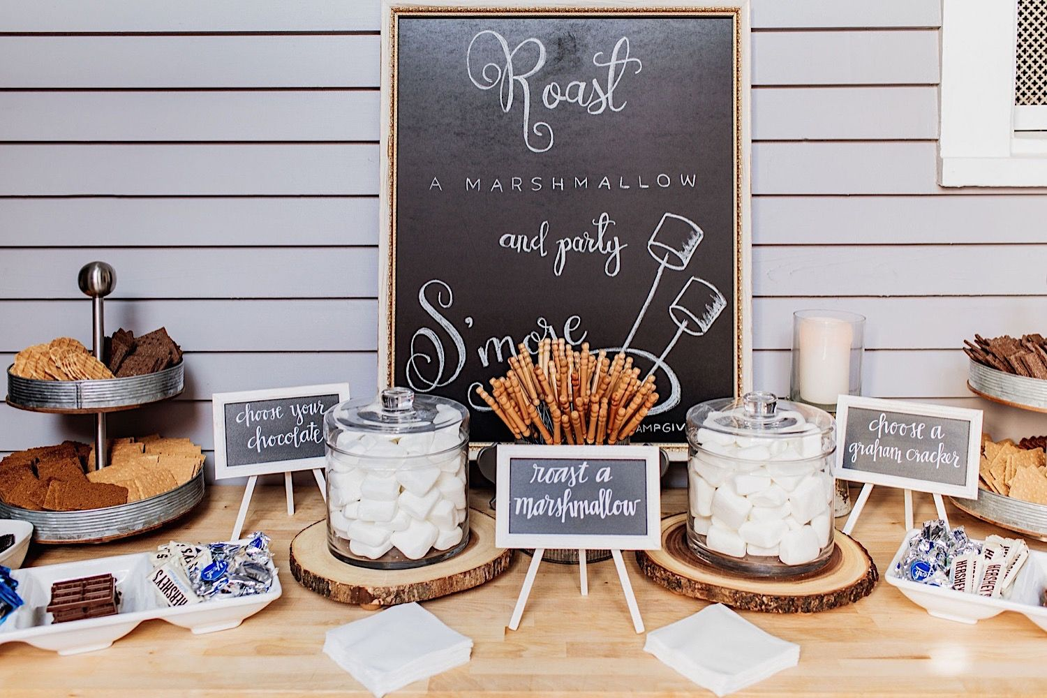 stores table at a wedding at the Orlo in tampa