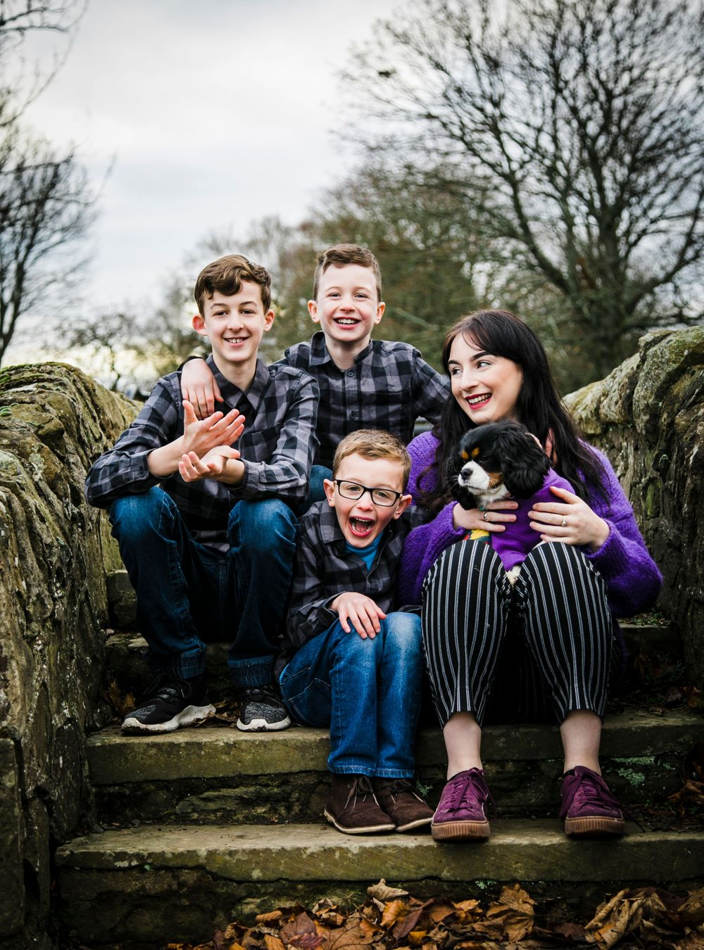 Lifestyle family photography Dundee Dawson Park