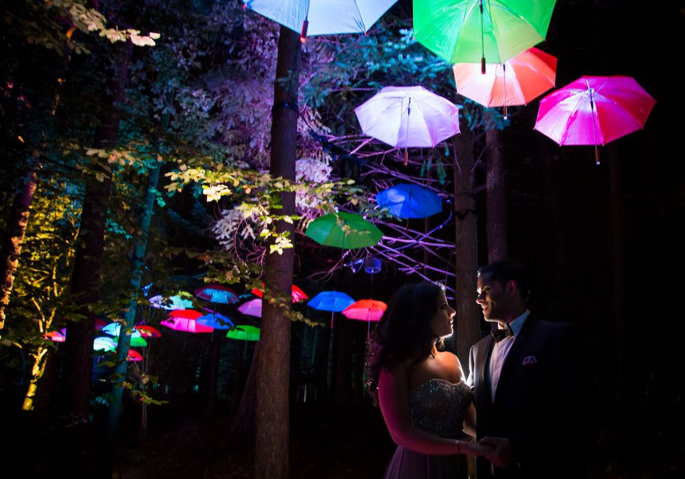 Engagement Shoot Perthshire Enchanted Forest