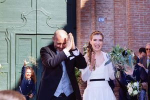 bride and groom couples shoots wedding photography in Ferrara Italy by Italian destination wedding photographer