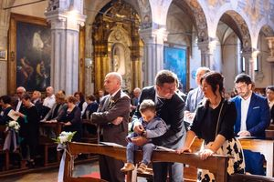 church wedding photography in Ferrara Italy by Italian destination wedding photographer
