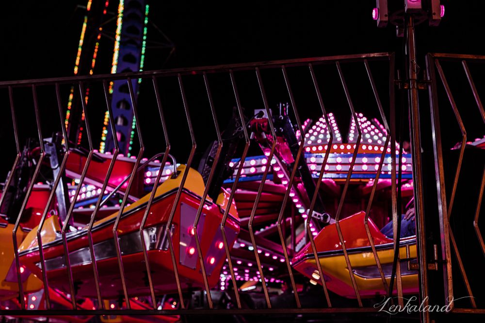 Midway at a Country Fair with Lenkaland Photography at the Nevada County Fairgrounds
