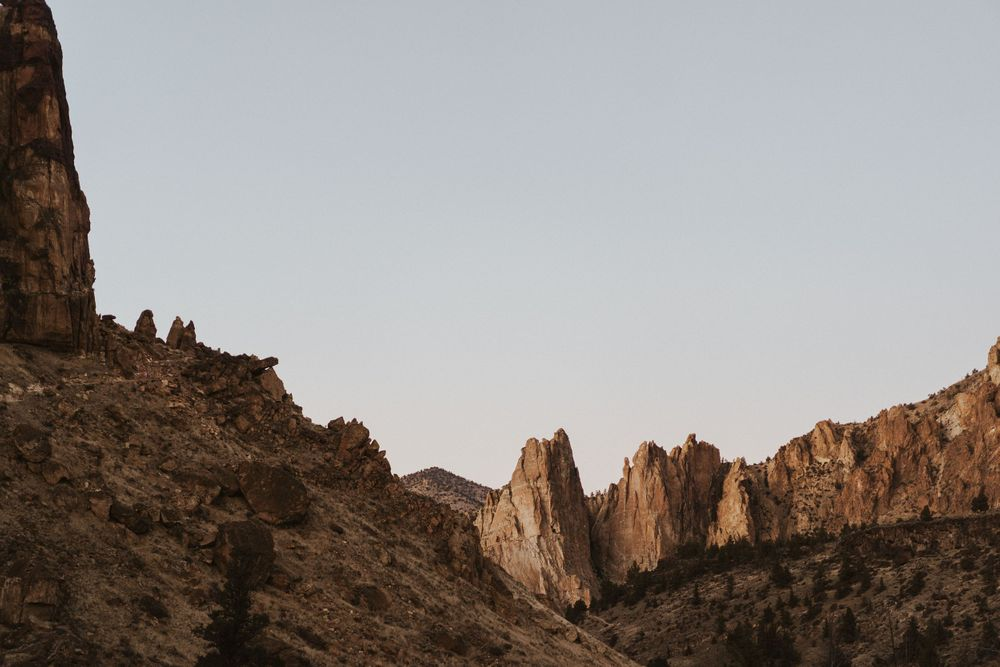 Photo by Kelsie Burke Photography of Smith Rock State Park