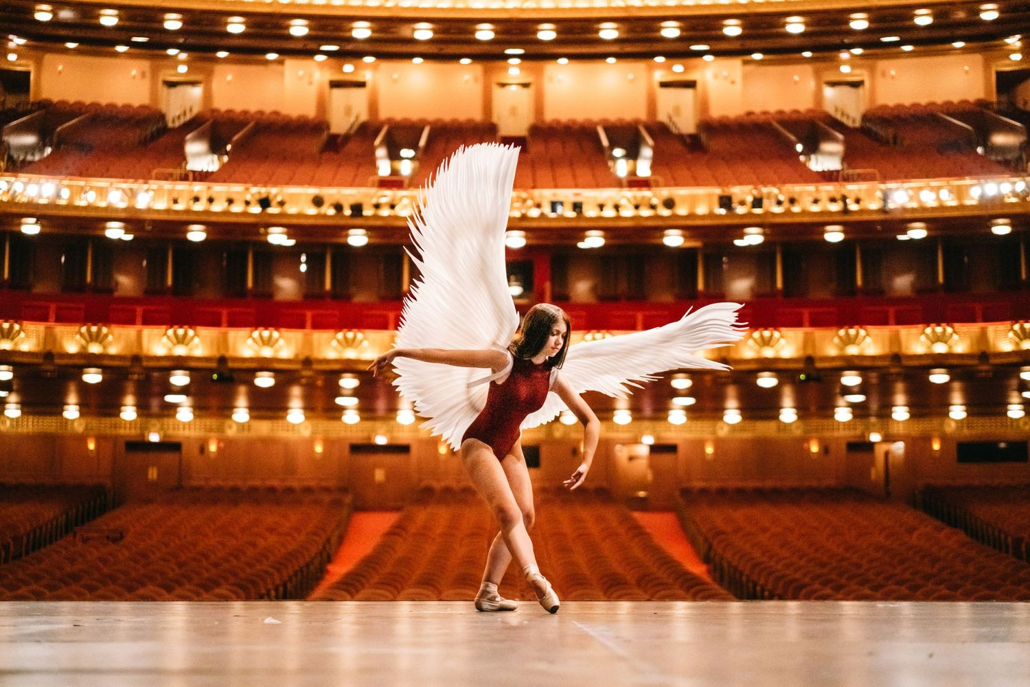 dance photography at chicago civic opera house
