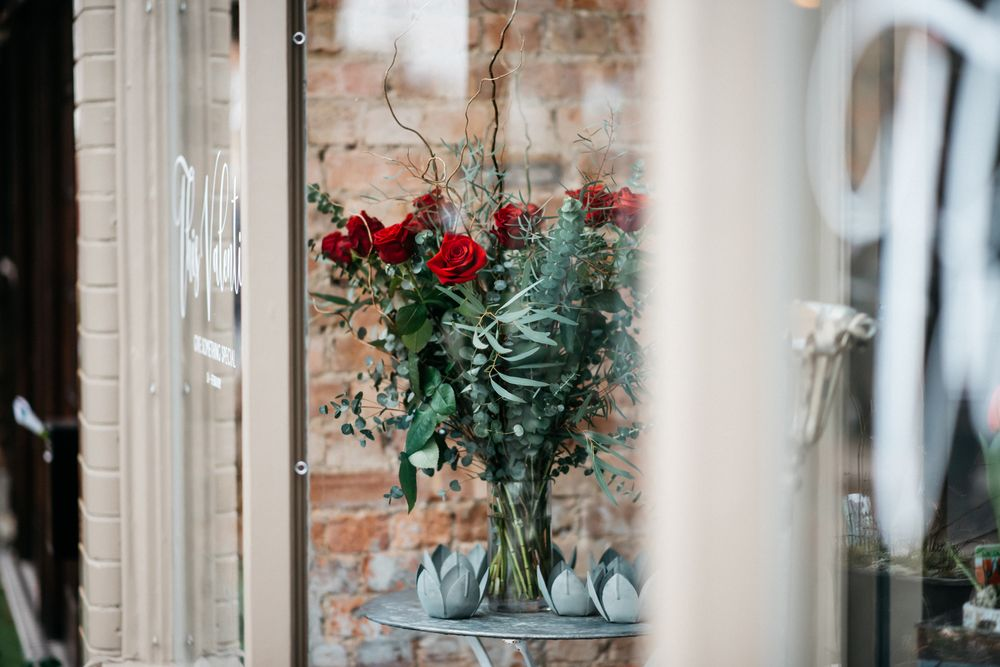 Valentine's Day photo florist west London