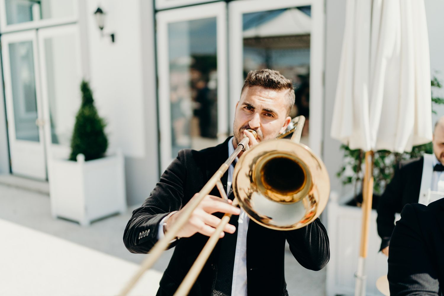 THE YEATMAN HOTEl funk you brass band WEDDING PHOTOGRAPHY