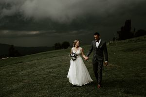 Stormy wedding Slovenia