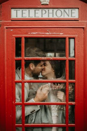 Telephone line wedding Edinburgh