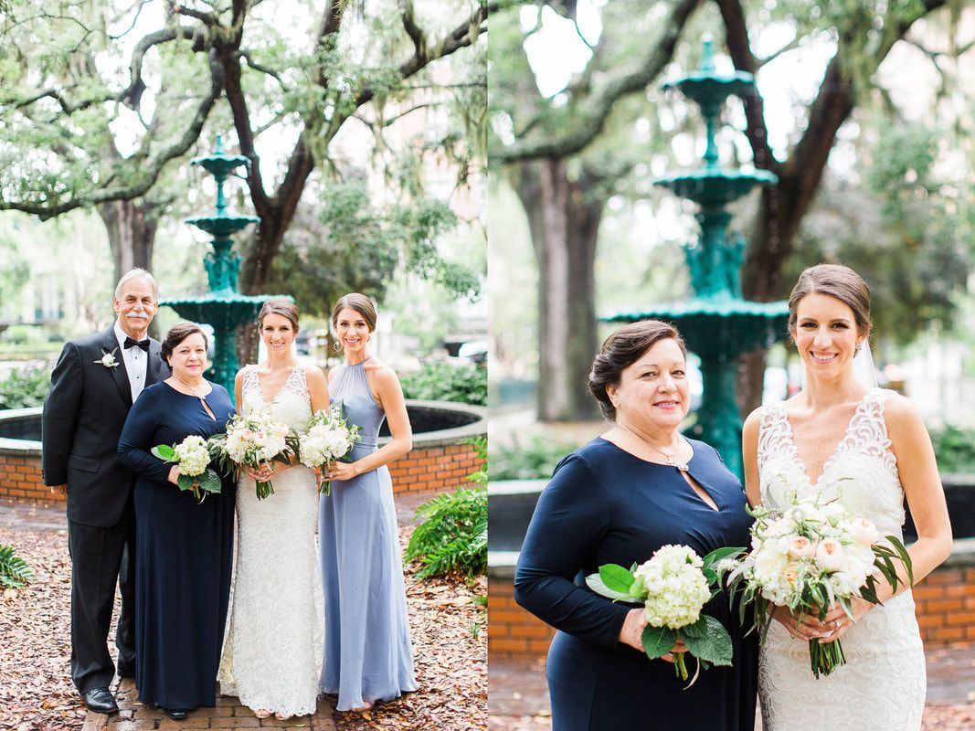 Merritt and Chris's Spring Savannah, GA Wedding Day at the cathedral of st john the baptist and the knights of columbus