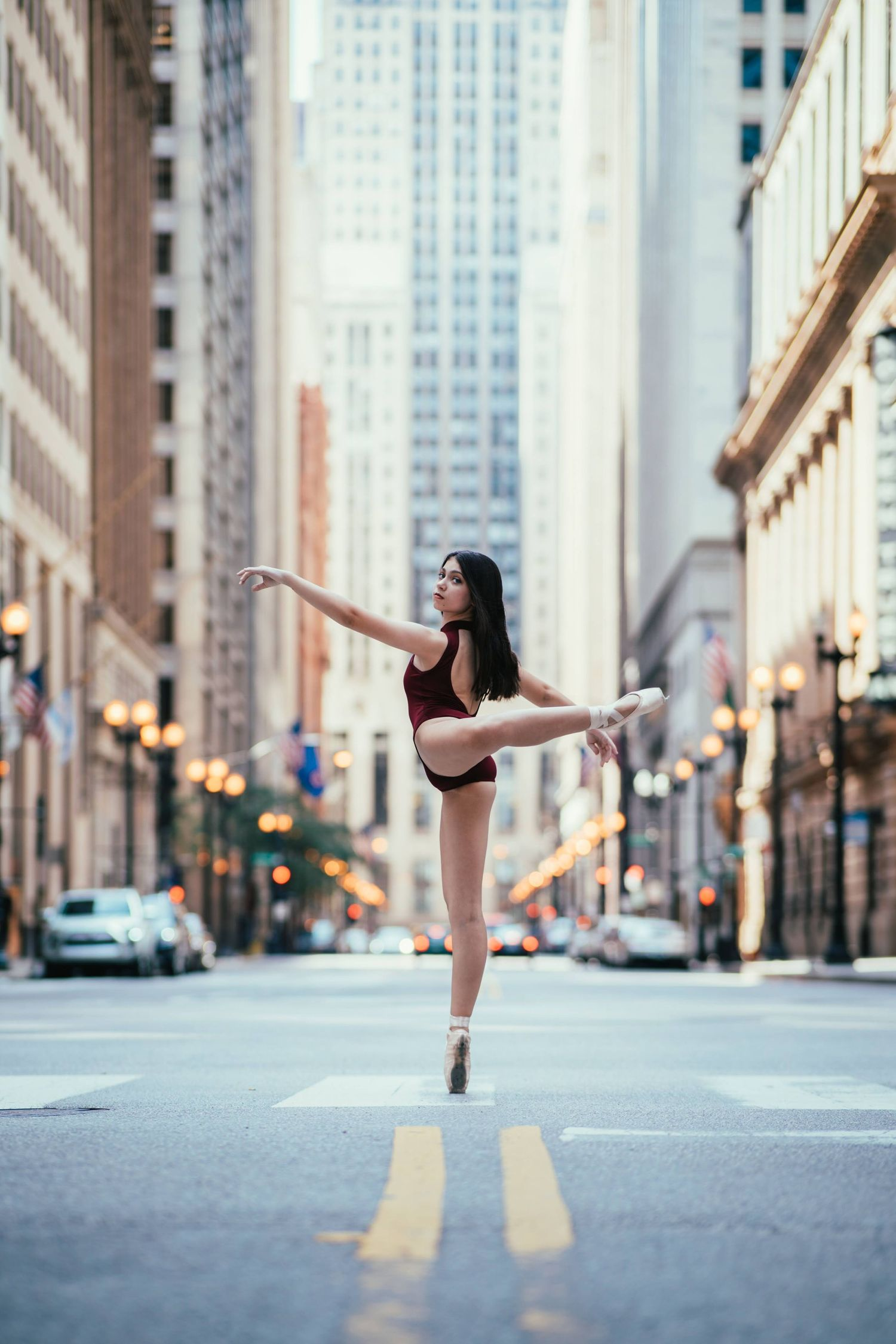 chicago dancing photography on the street