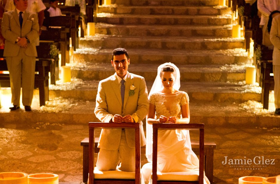 Xcaret chapel wedding photos 6