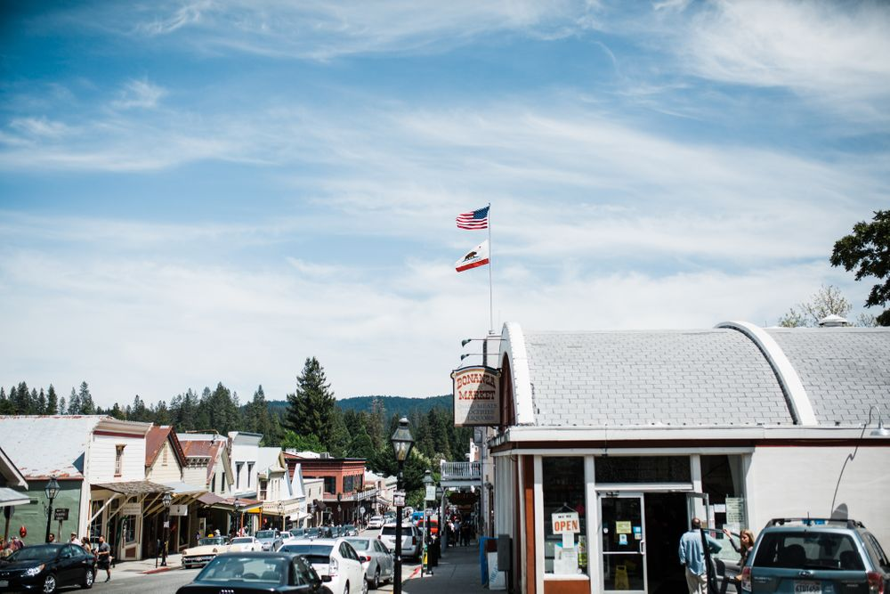 Summer Nights in Nevada City