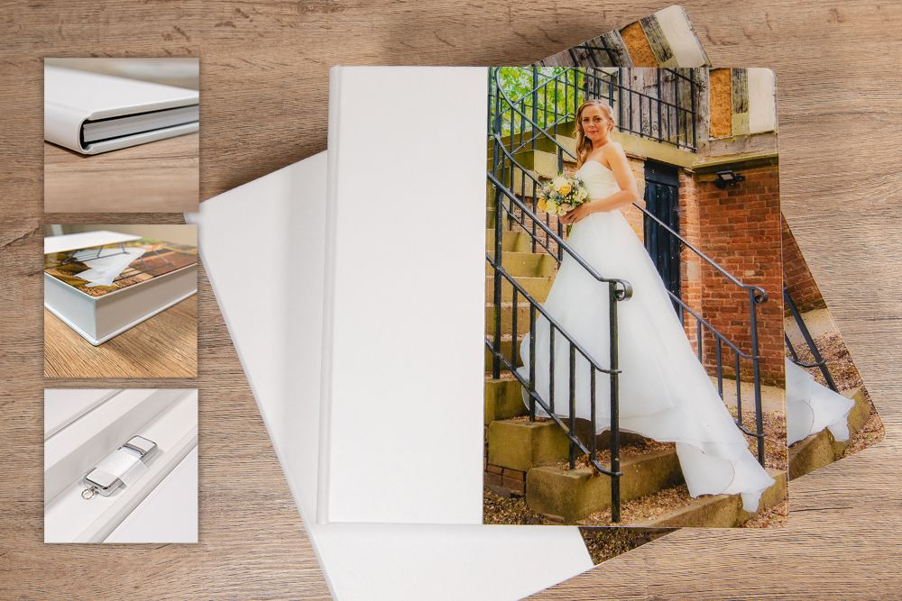 Complete leather wedding album package, Robert Nelson Wedding Photography