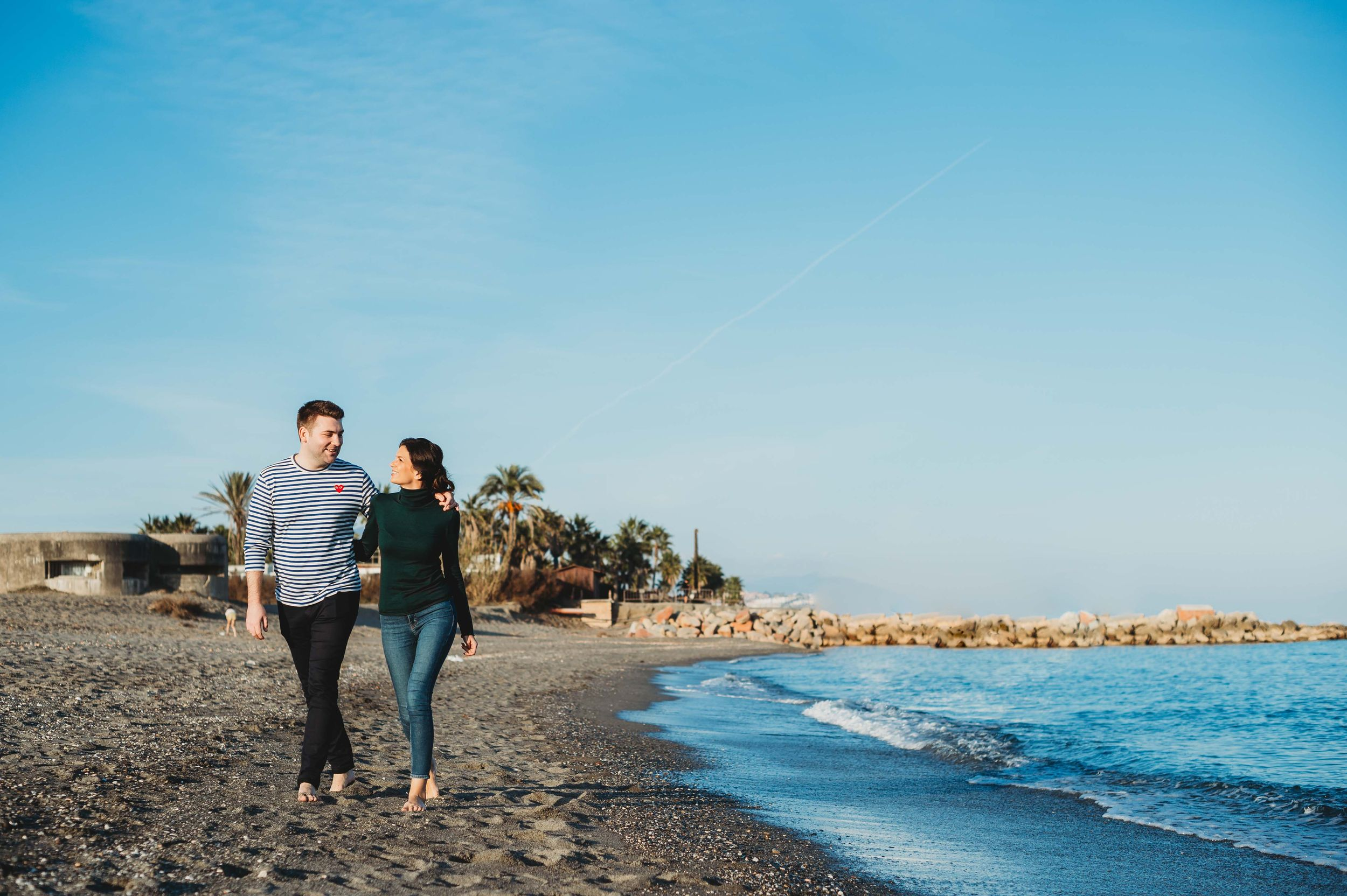 Sotogrande engagement session