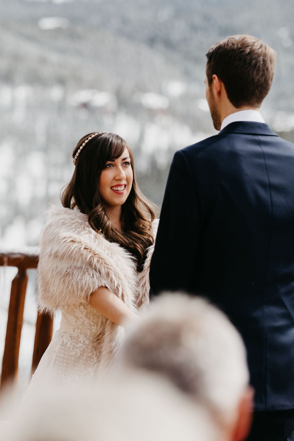 ceremony, vows, Breckenridge, Wedding, portraits, the lodge, colorado, photographer, details, best CO weddings,  winter