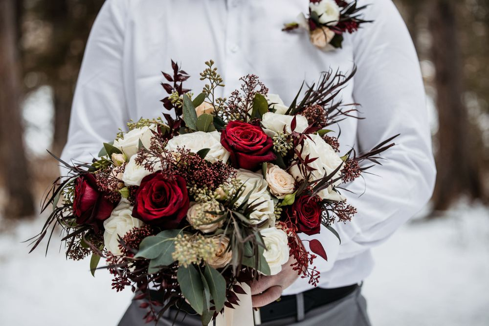 Black Earth Floral Wedding flowers