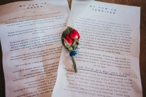 wedding vows Soulful Hues Photography