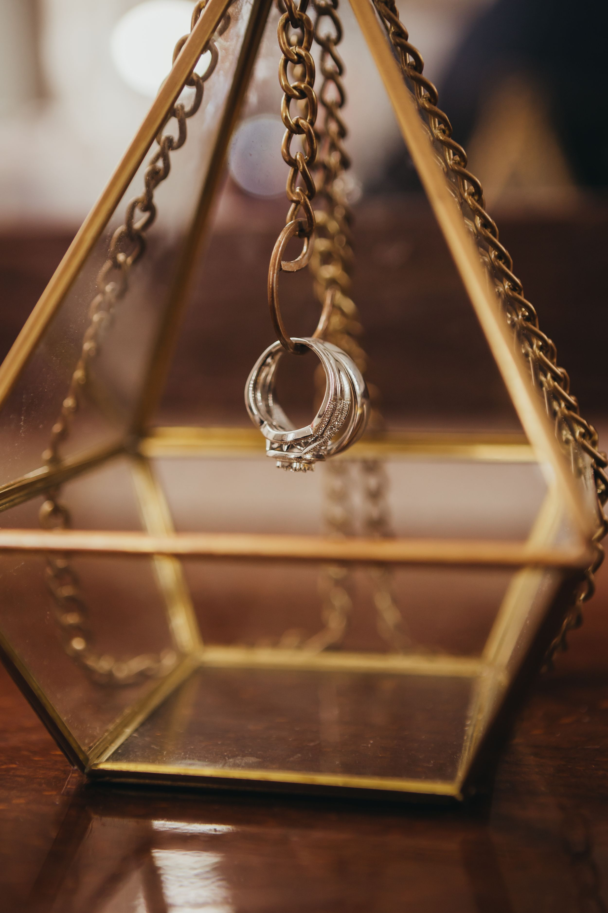 Ring shot, geometric ring holder Soulful Hues Photography