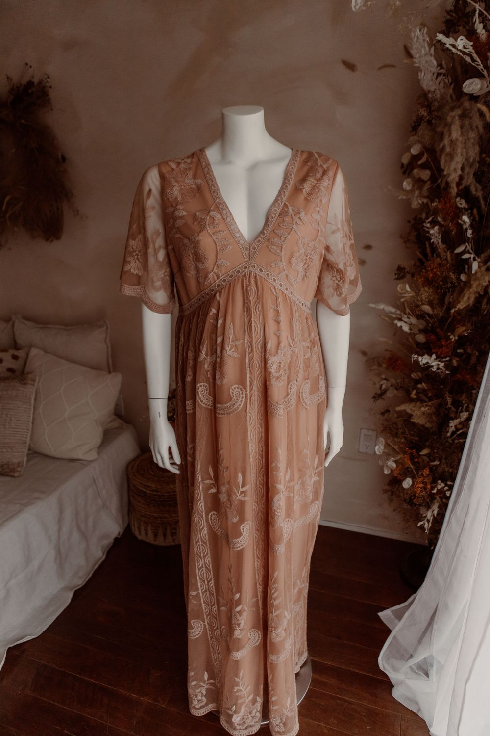 Size 0XL/1XL Blush Maxi