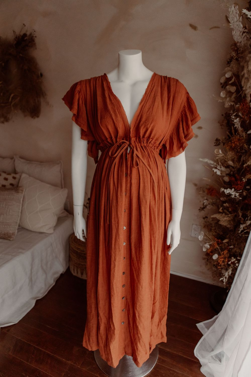 Size M Rust Maxi - Versatile and will fit sizes M-1XL