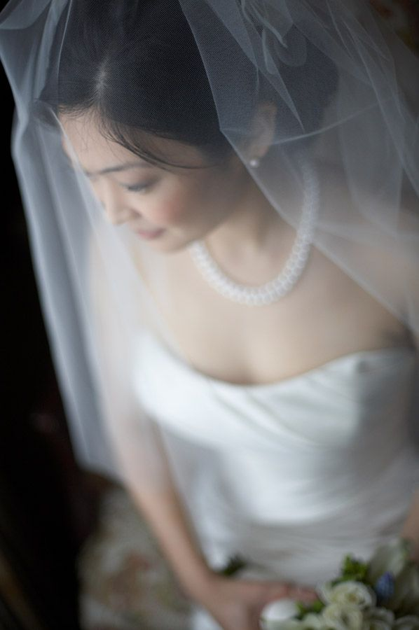 Beautiful bridal portrait in Newport Rhode Island at the Hotel Viking
