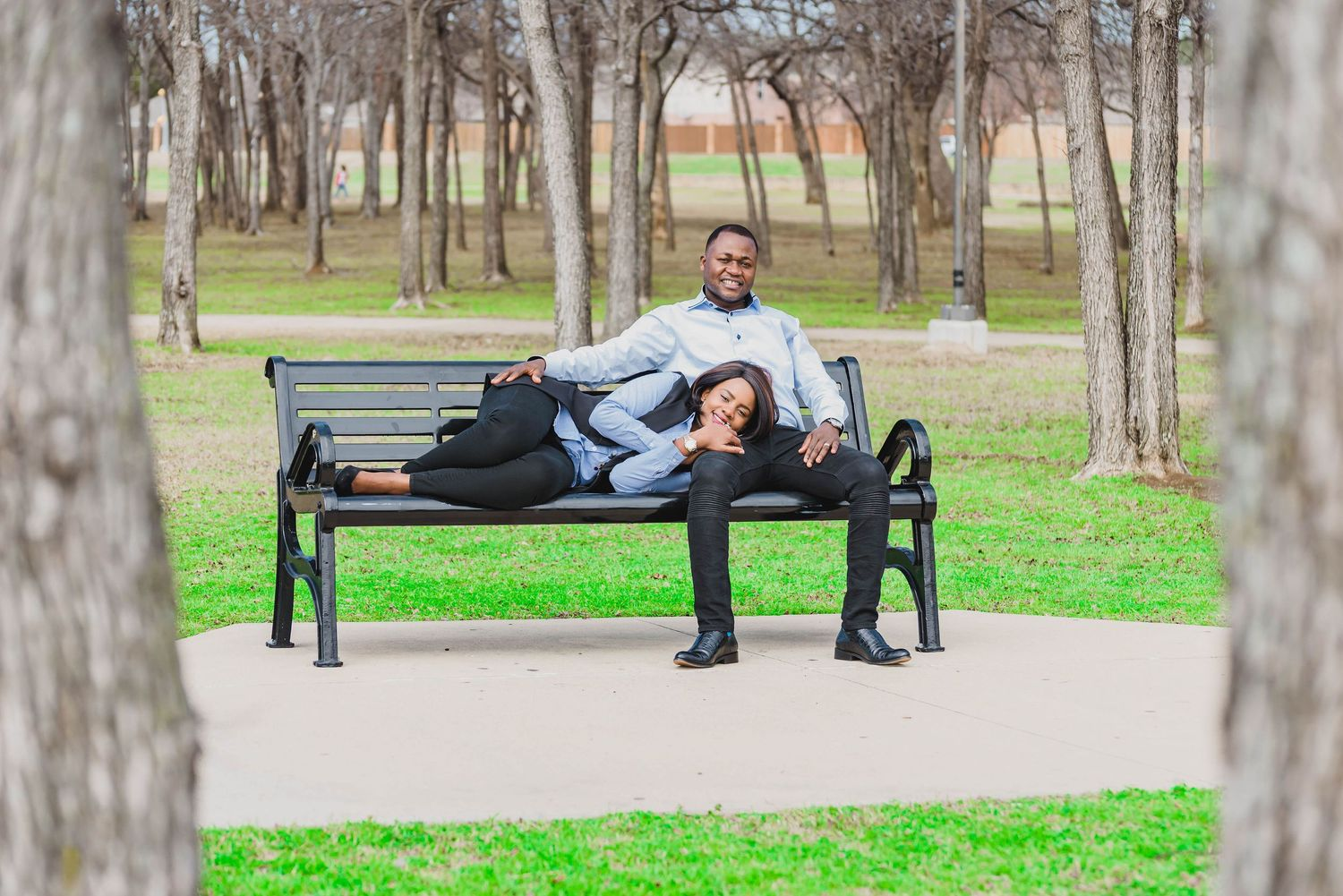 Irving, Texas Engagement photo Location