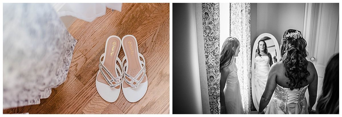 monterey california beach house destination wedding shoes