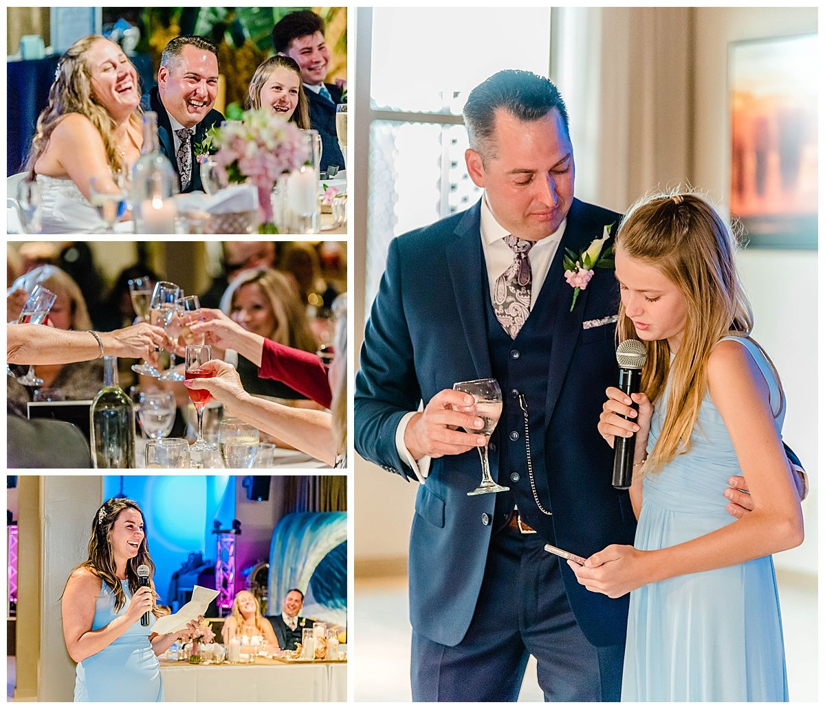 monterey california beach house destination wedding reception